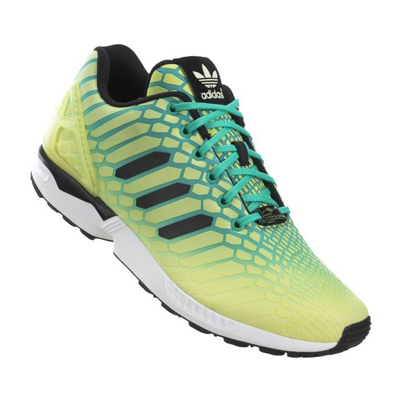 9c575b7fb Adidas ZX Flux Torsion Men s Sneakers Reflective